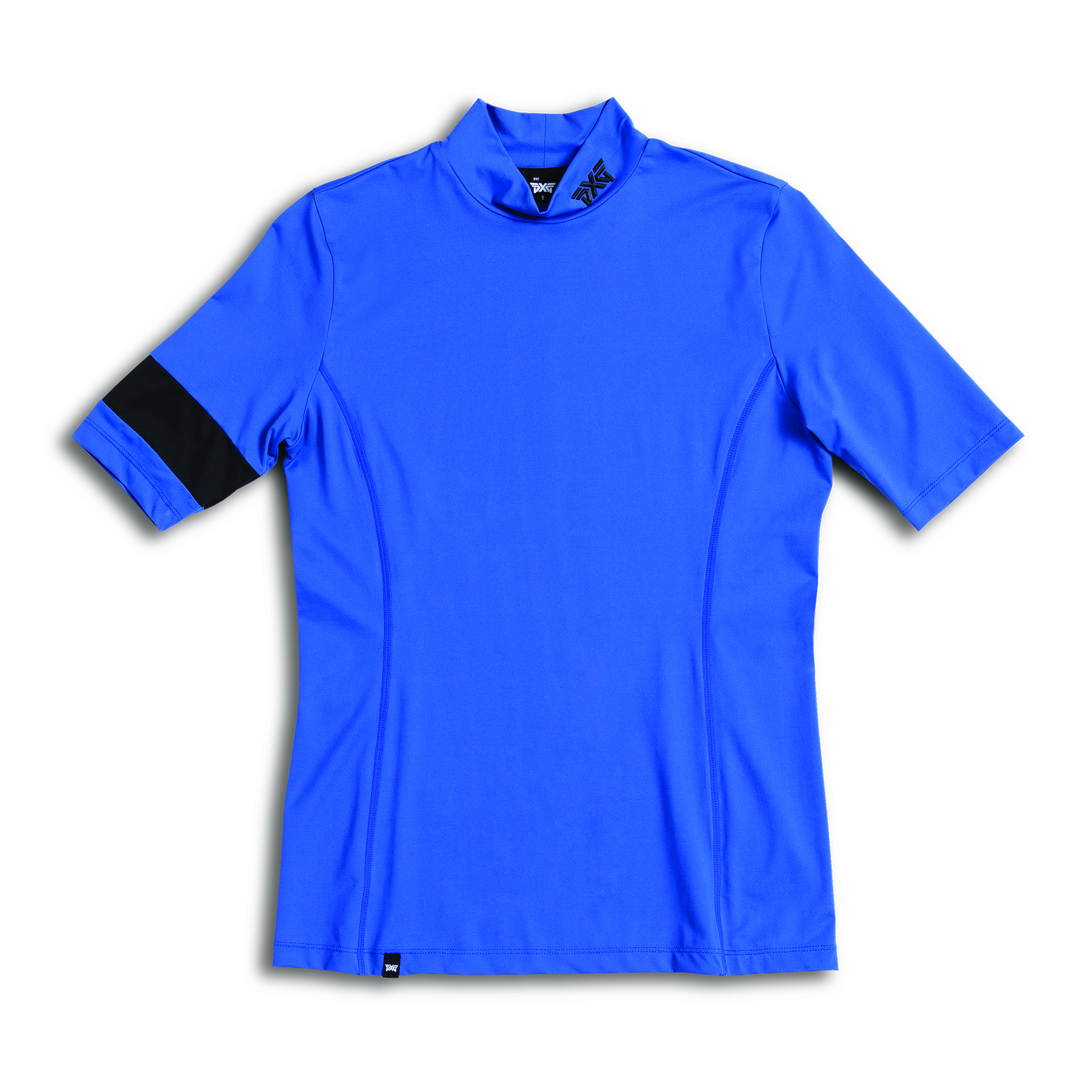 Womens-Banded-Mock-Neck-Shirt-Blue-Lay-Flat-6x6-0001.jpg